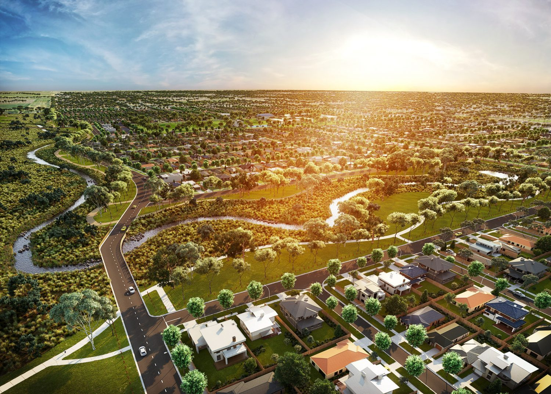 Attwell Aerial photo